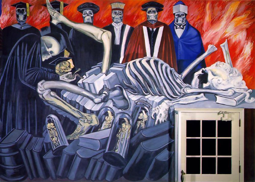 Alhs ap studio art happy birthday jose clemente orozco for Dartmouth mural