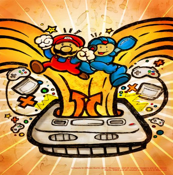 Mega Man & Mario