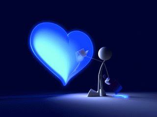 Imagenes de corazones azules Imagenes tristes para  - Imagenes De Corazones Azules