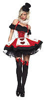 Dark Queen Of Hearts Costume