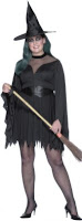 Plus Size Sexy Witch Costume