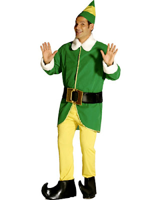 Other than the Santa costumes, the next most popular Christmas fancy dress