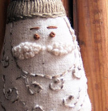 Little Embroidered Santa