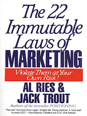 brain food #1 : The 22 Immutable Laws Of Marketing