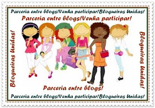 """Selinho """"Blogueiras Unidas"""""""