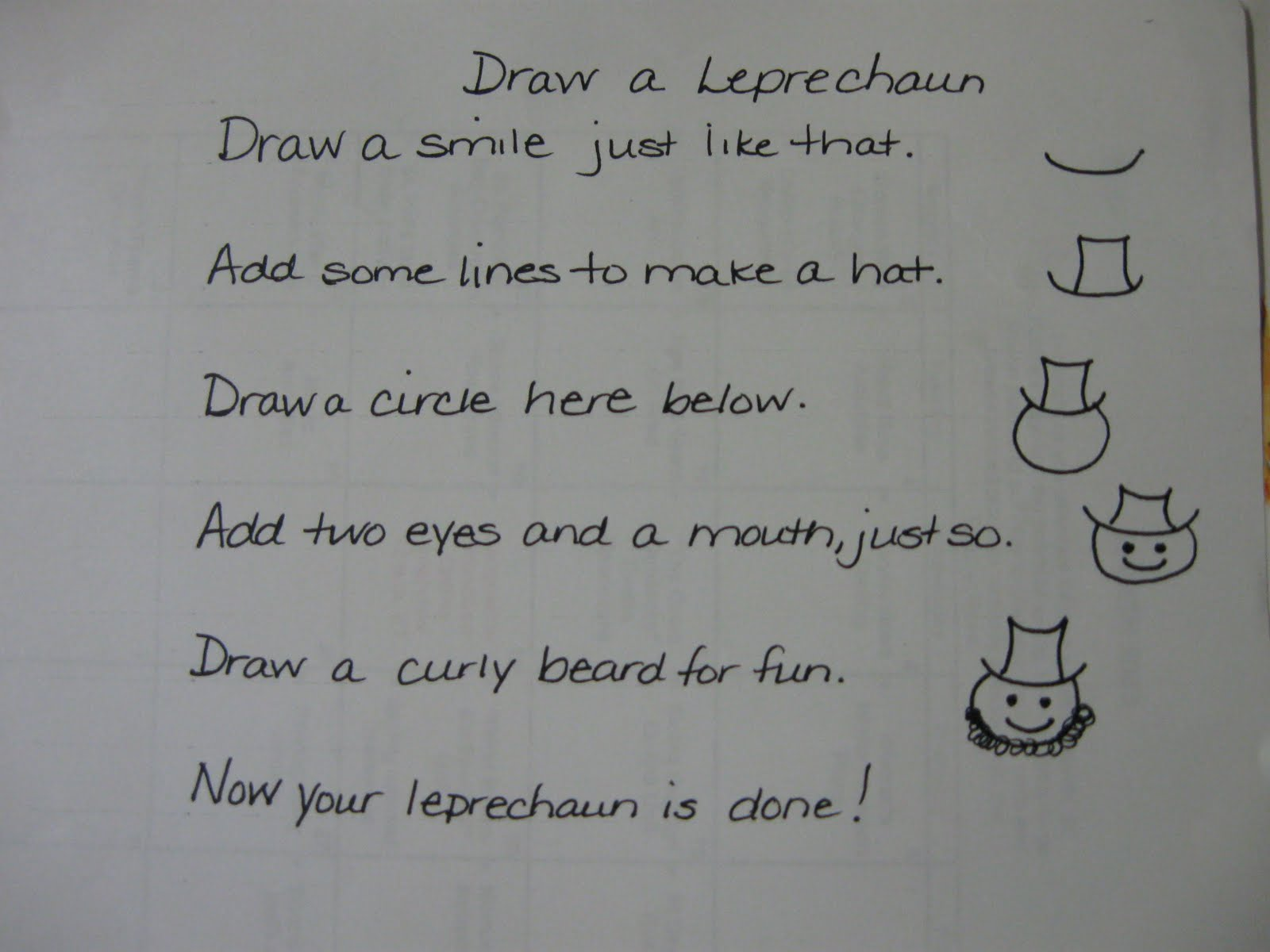 Following Directions Drawing Activities on 2 step following directions ...