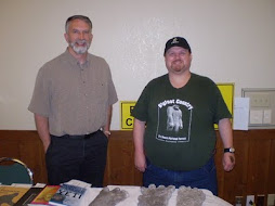 Myself and Jeff Meldrum, Ohio Bigfoot Conference, 5-15-10