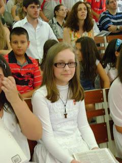 Filosofar é Preciso Louise Parabéns Pela Primeira Eucaristia