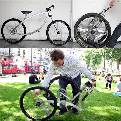 Bicicleta plegable The Contortionist