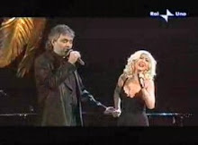 ANDREA BOCELLI Y CRISTINA AGUILERA
