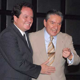 MARCO ANTONIO MUIZ JUNTO A SU HIJO JORGE COQUE MUIZ