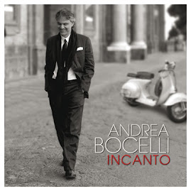 "ESTE ES LA PORTADA DE SU NUEVO DISCO: "" INCANTO "" BOCELLI EN LIMA"