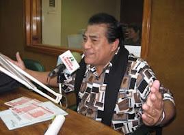 Ramón Aviles en su programa radial