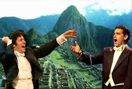 Juan Diego Florez en Machu picchu
