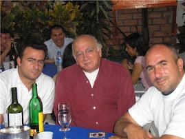 Dr Dagoberto Lainez y sus hijos