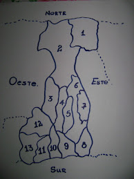 Mapa del distrito de Bugaba.