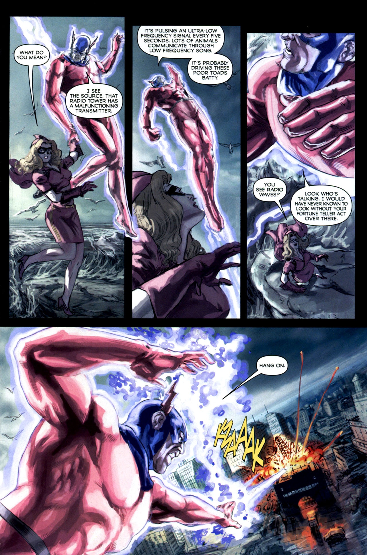 Read online Masquerade comic -  Issue #2 - 14