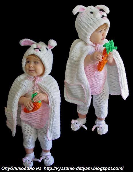 Сшить костюм зайца своими руками выкройки
