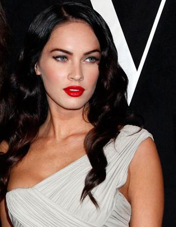 megan fox hair extensions. megan fox hair up. megan fox
