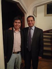 Con Cesar Mauricio. Embajador ante la Santa Sede