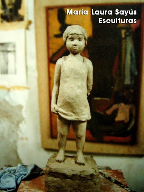 María Laura Sayús - Esculturas