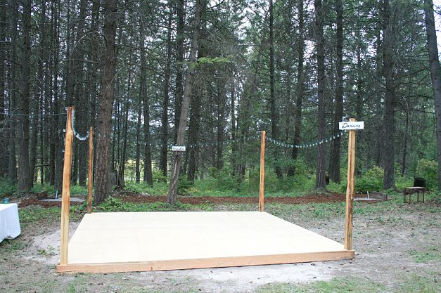 Real Wedding Melissa And Jessess Montana DIY Camp Wedding Part 2