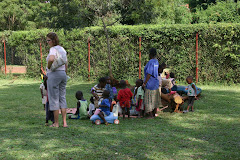 Toddlers at Amani Baby Cottage
