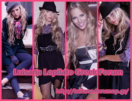 Luisana Lopilato greek forum!