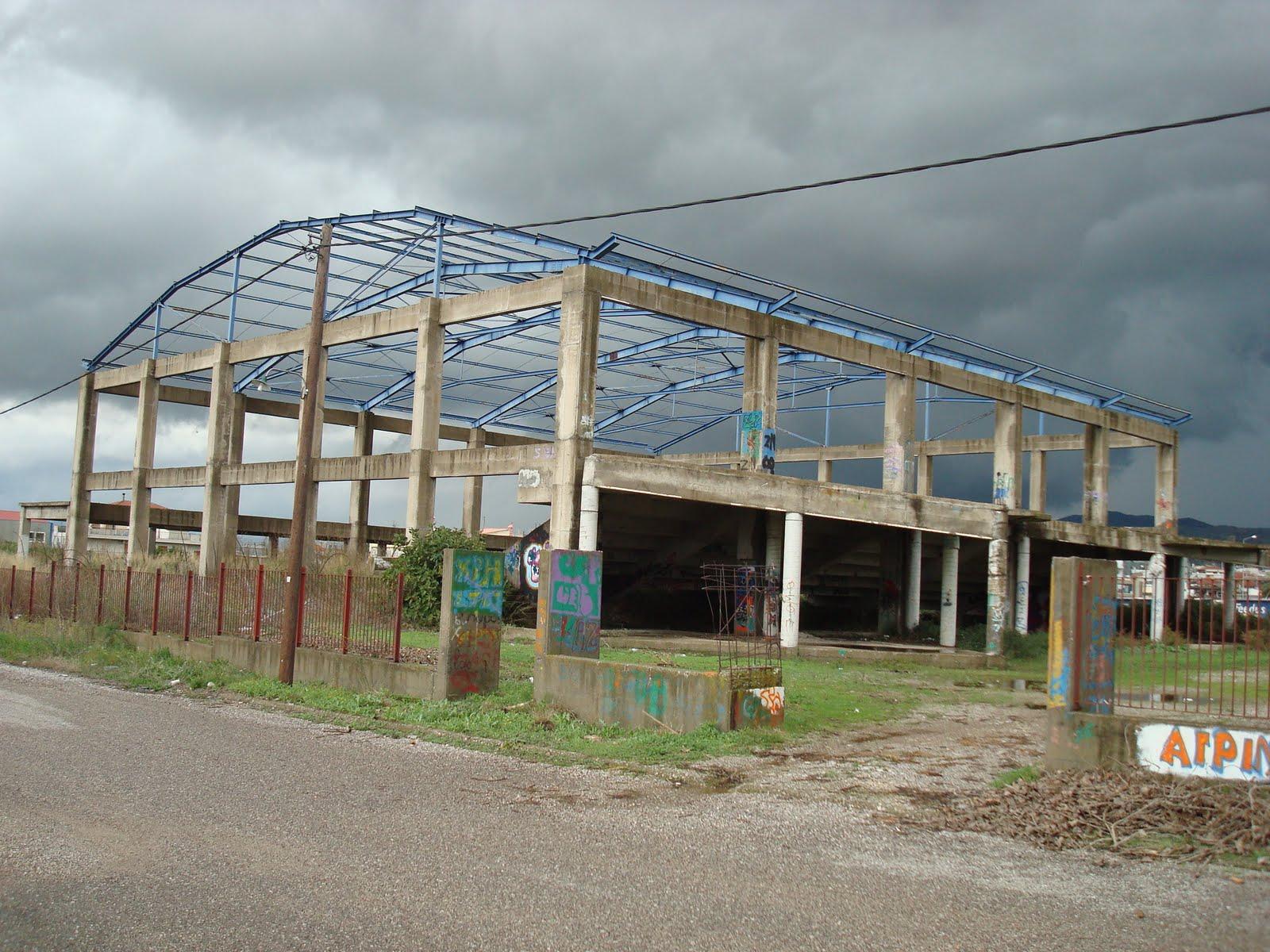 Δημοπρατείται επιτέλους το Κλέιστό Γυμναστήριο στην Αερογέφυρα