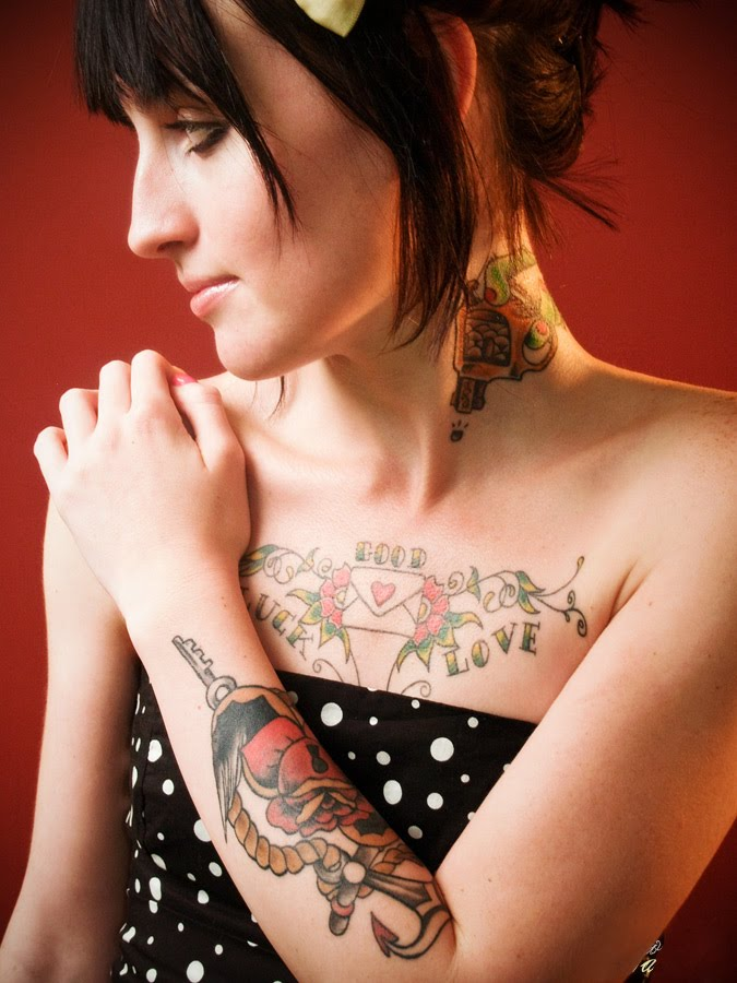 Female rib tattoos are really sexy because it shows the shape and natural