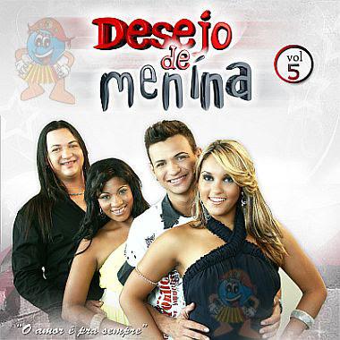 Cd Desejo de Menina - O Amor é Pra Sempre - Vol. 5