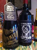 Sen julklapp - En kartong fin fin-öl till mig, från mig!