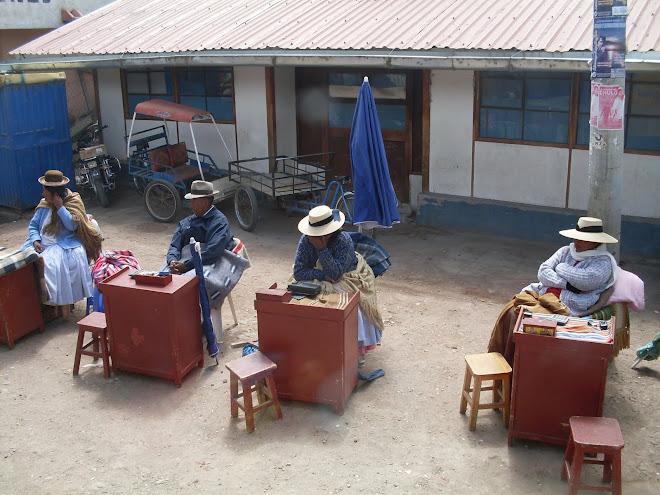 Bureaux de change à la frontière avec l'Argentine