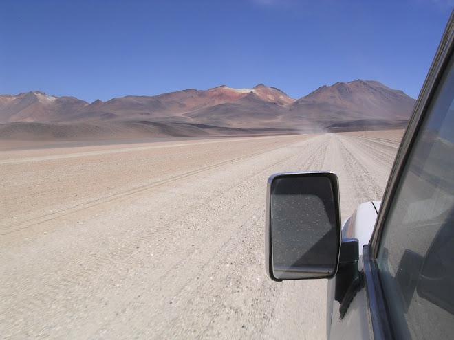 En route pour le Salar