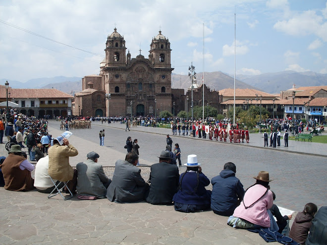 Manifestation à Cusco