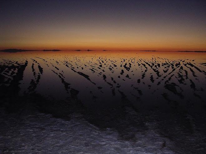 Lever de Soleil au Salar de Uyuni