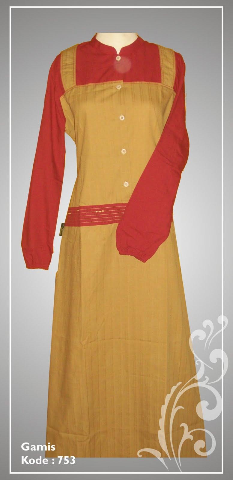 Model Baju Gamis Terbaru Bahan Sifon Aktual Post