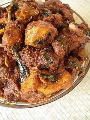 how to prepare chicken curry in telugu words