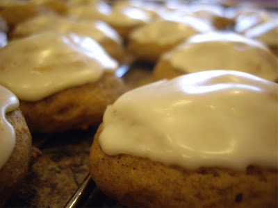 Simply YUM!: Iced Pumpkin Cookies