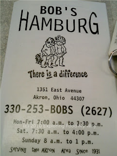 Bob's Hamburg Menu 1