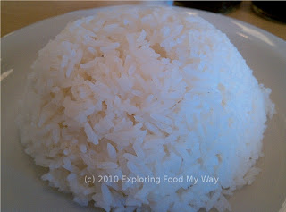 Inverted Bowl of Steamed Rice