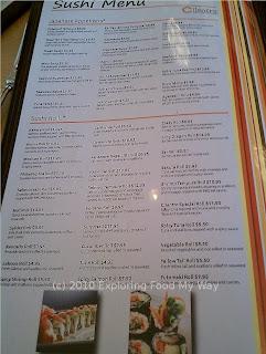 Cilantro's Menu Page 4