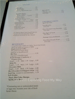 American Heritage's Menu Page 2