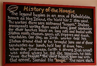 Origin of the hoagie