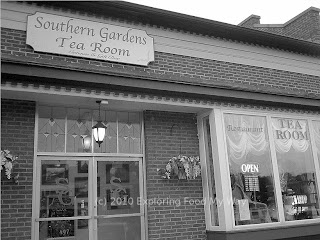 Entrance to Southern Gardens Tea Room