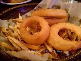 50/50 Basket of Fries and Onion Rings