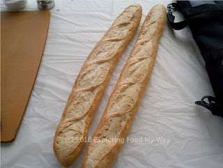 Day Old Baguettes