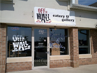 Storefront for Off The Wall Eatery and Gallery