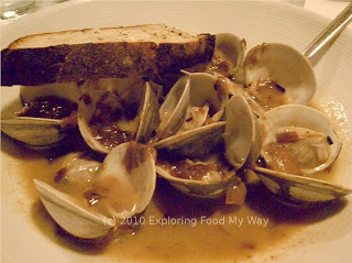 Foie Gras Steamed Clams