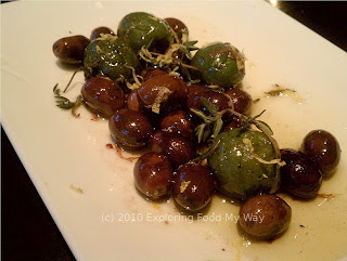 Warmed Olives